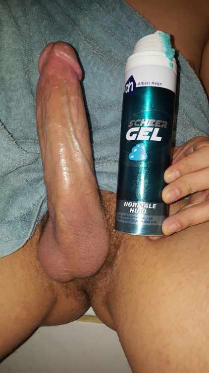 Big White Cock Solo