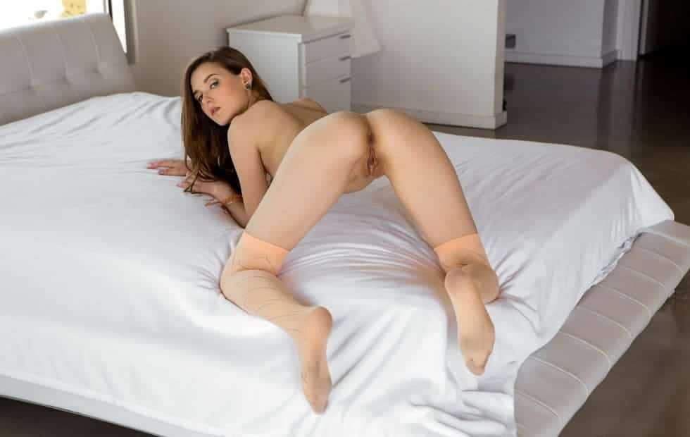 White Monster Cock Fucking Sexy Redhead Teen 2